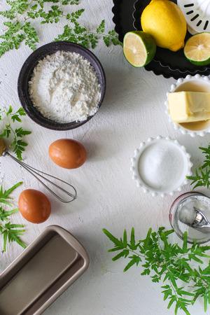 Ingredient of Lemon pound cake