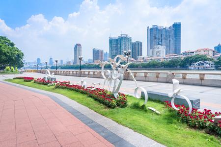 sculpture at Guangzhou Xidi Wharf