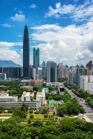 Shenzhen city landscape