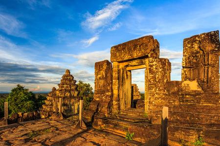 The ancient buildings in Bakheng