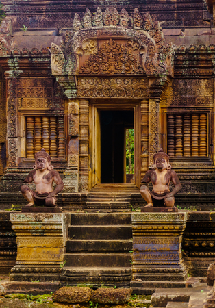 The Queens palace of Angkor Editorial
