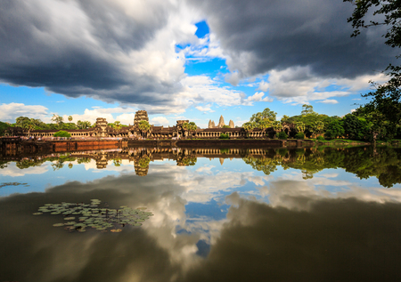 The style of Angkor Wat Stock Photo