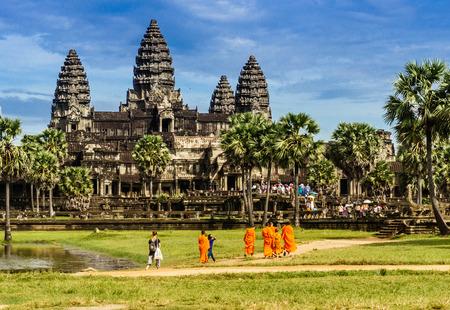 A monk who visited Angkor wat