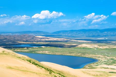Qinghai Lake Milton landscape view