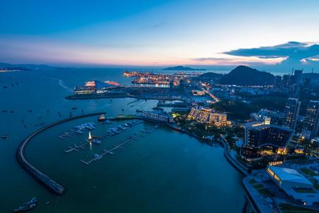 Sea world skyline, Shenzhen