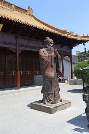 Confucius temple, Qingjiang, Huaian Editorial