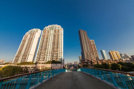 Urban architectural landscape of Shanghai