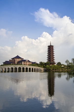 Chinese architectural landscape