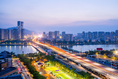 Zhuhai City Scenery Stock Photo