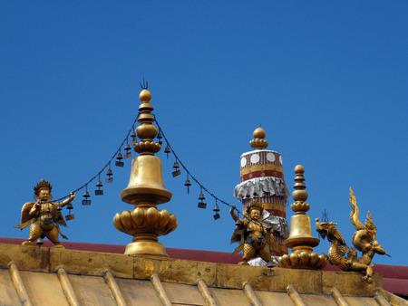 Tibet Lhasa Jokhang Temple Landscape Architecture Imagens   95521406