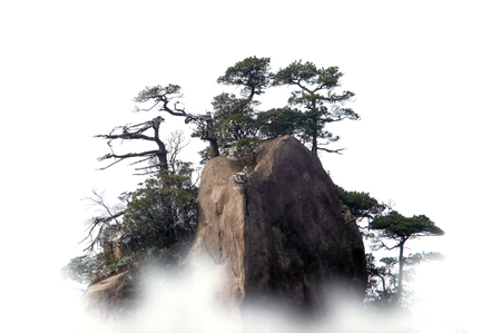 Natural landscape of Mount Sanqingshan, Jiangxi Province Stock Photo