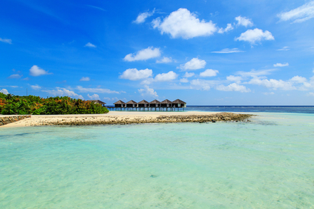 The charming scenery of Maldives Editorial