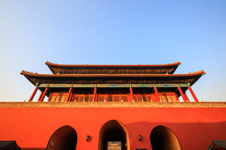 Gate of Divine Might, Forbidden City in Beijing, China