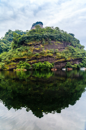 Shaoguan Mount Danxia Xiang Longhu Stock Photo