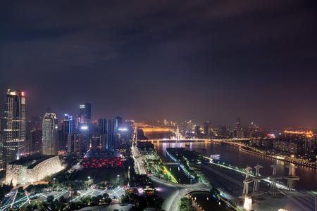 Zhujiang New Town Stock Photo
