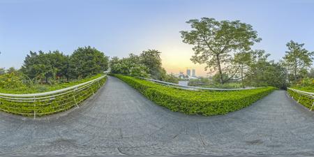 garden Park Scenery.