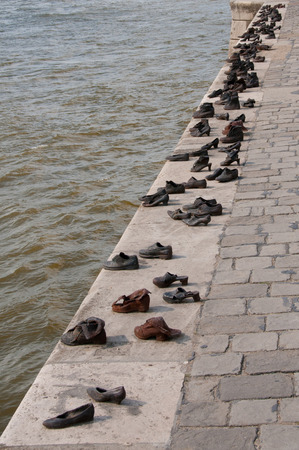 persecution: The Shoes on the Danube Promenade