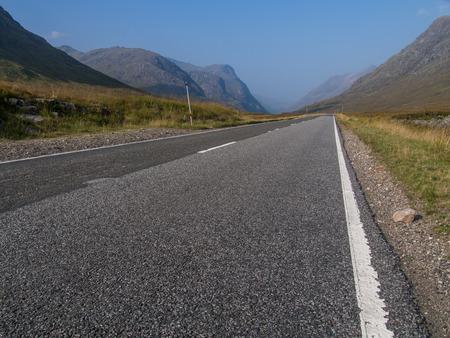 glencoe: The main road through Glencoe