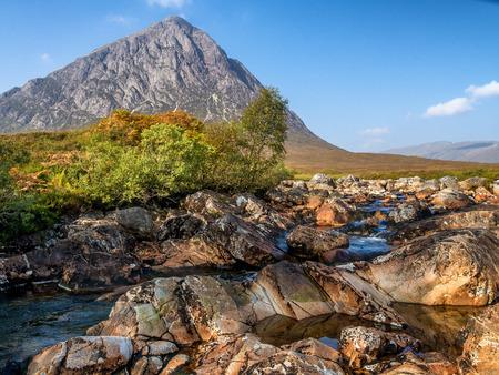 glencoe: Buachaille Etive Mor in Glencoe, Scotland