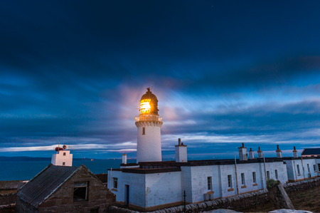 Dunnet Head Lighthouse, the most notherly point of the UK mainland