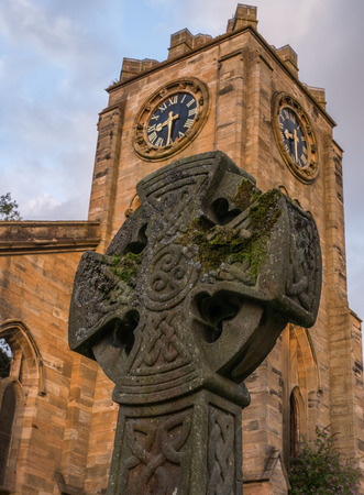 burned out: Celtic Cross in Campsie High Church
