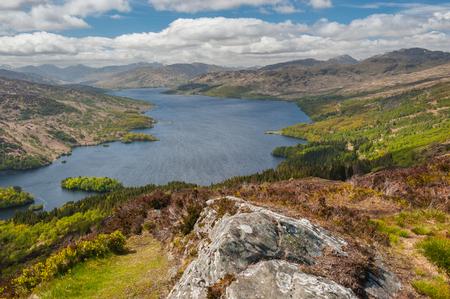 Loch Katrine, Scottish Highlands Imagens