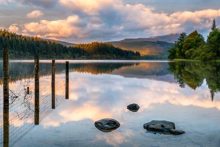 ard: sunrise Loch Ard