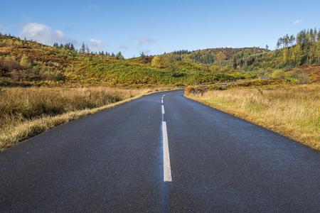 trossachs national park: The Dukes Pass, Trossachs National Park, Scotland