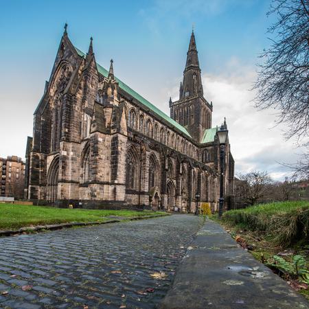 glasgow: Glasgow Cathedral Stock Photo
