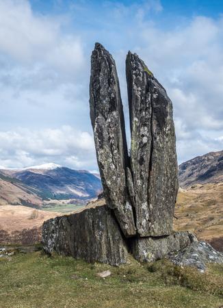 lyon: Praying Hands of Mary, Glen Lyon, Scotland