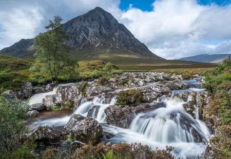glencoe: Buachaille Etive Mor in Glencoe  in the highlands of Scotland