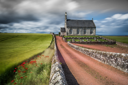 The Church and Commonwealth War Graves site at Boarhill near St Andrews, Scotland