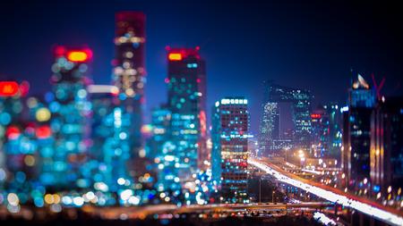 night view: Beijing  night view