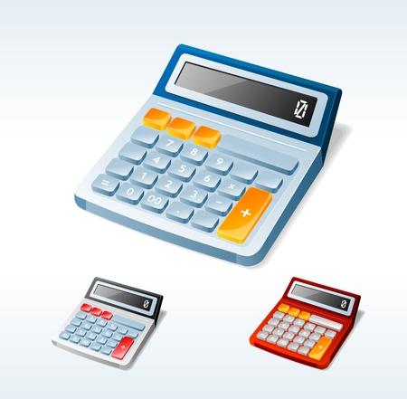 Vector calculators set Stock Vector - 17290291