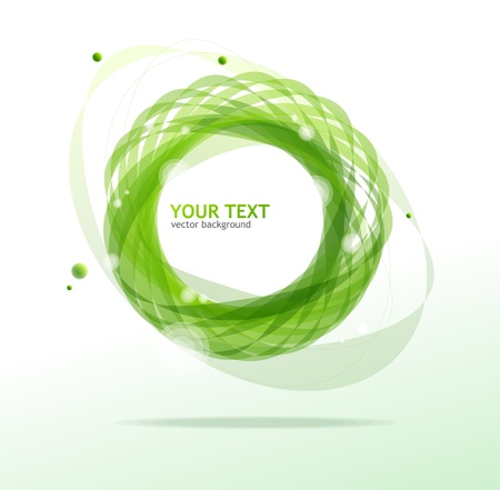 Abstraction green background for text