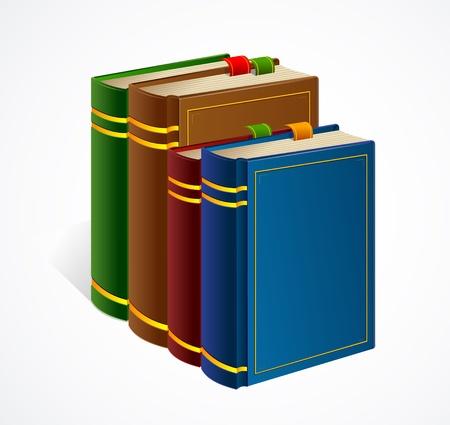 Books shelf icon  Vector Illustration Illustration