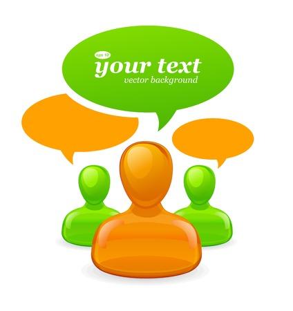personas comunicandose: Comunicación y medios de comunicación social el concepto