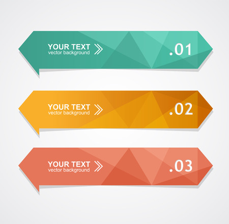 tweet: Vector colorful text box, trendy colors Illustration