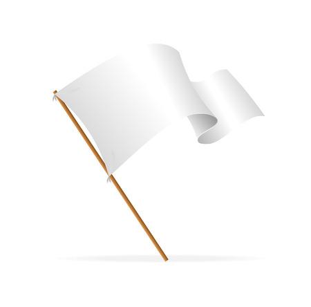 libbenő: Fehér zászló