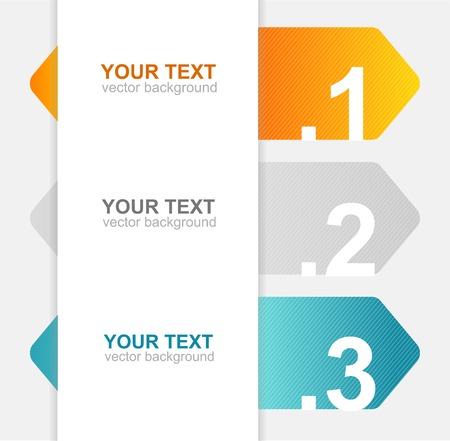 Arrow speech templates for text