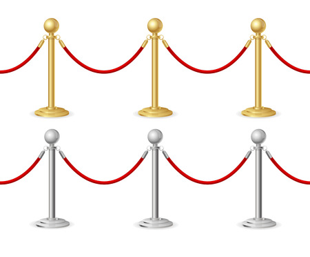 red carpet event: Barrier rope