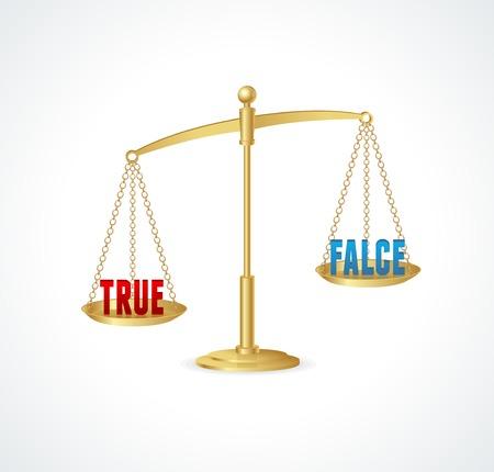 justice scales: Escalas de la justicia del oro aisladas en blanco