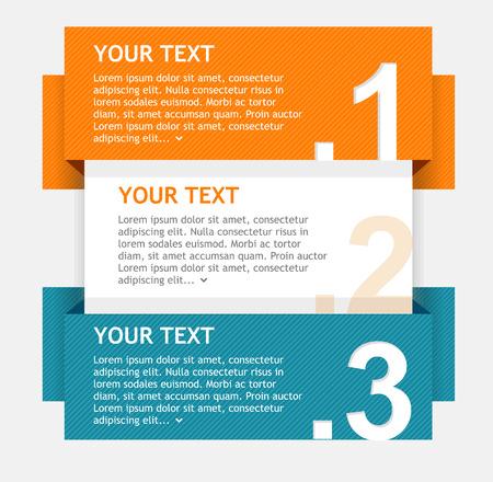 Vector toespraak templates voor tekst Stock Illustratie