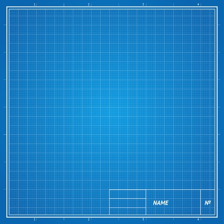 patchwork background: Vector Blueprint background. Drawing paper for engineering work