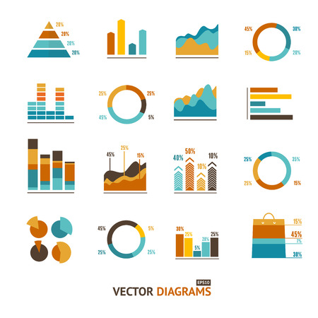 optional: Infographic set elements, Graph and Charts, Diagrams. Illustration