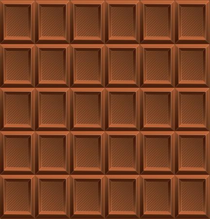 Vector illustration Milk Chocolate Background modern texture