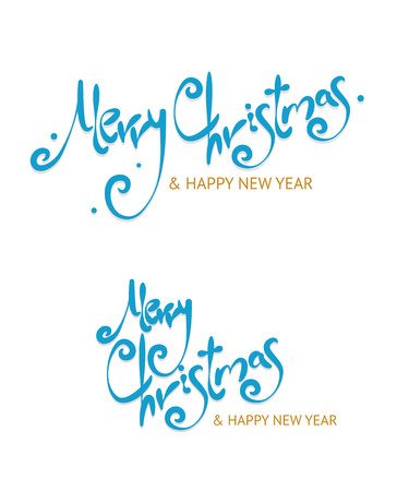 christmass: Christmass Sign Letters Set on White Background. Vector illustration