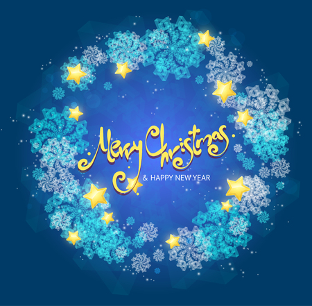 xmass: Xmass Card Background with Text. Vector illustration Illustration