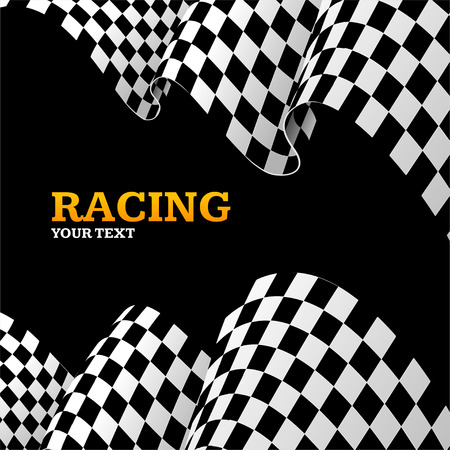 winning race: Racing Background with Space for Your Text.u