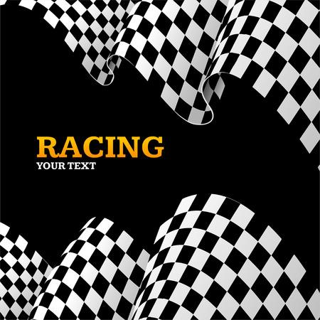 Racing Hintergrund mit Platz für Ihre Text.u